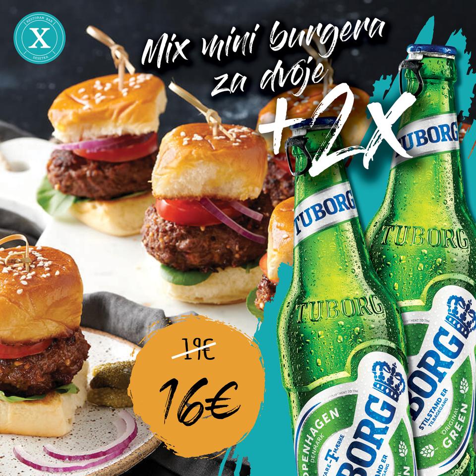 Mix mini burgera za dvoje
